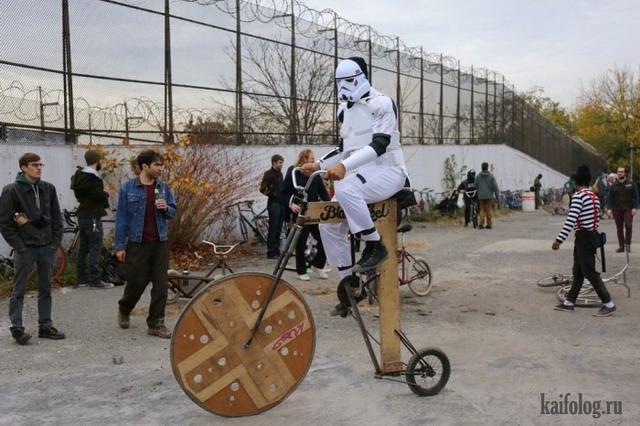 Bike Kill 12 в Нью-Йорке (45 фото)