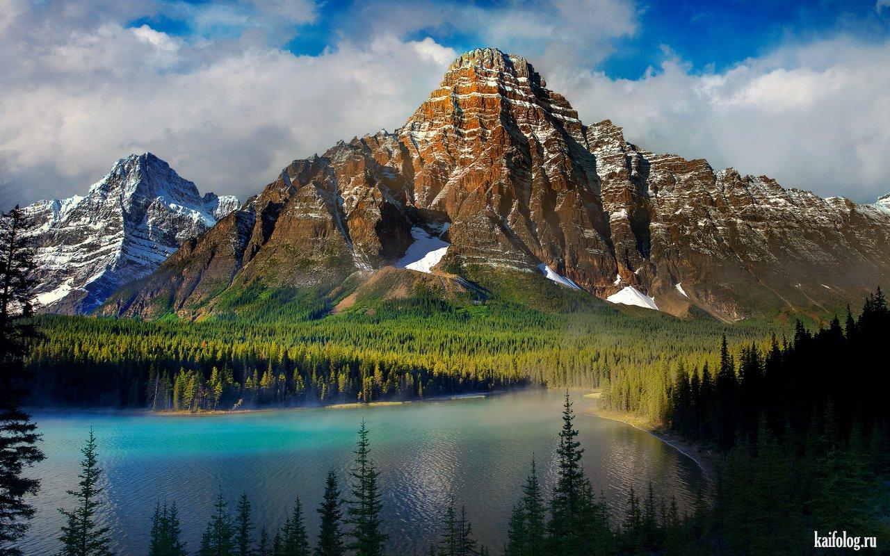 Просто красивая вектор, красивые горы, красивые горы, красивые горы