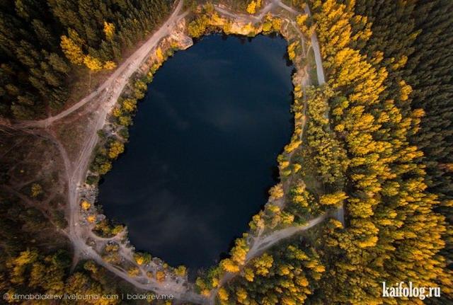 Фото с высоты полета (55 фотографий)