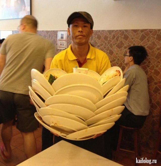 Официанты 80-го уровня (25 фото)