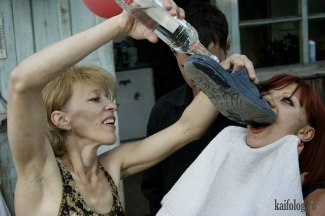Мастерское распитие водки (позитив на пятницу)