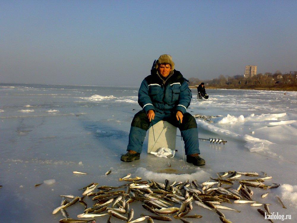 зимняя рыбалка в омске