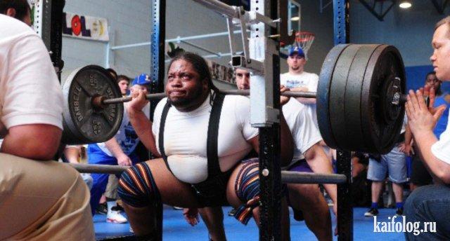 Толстые спортсмены (35 фото)