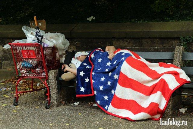 Бомжи США (35 фото)