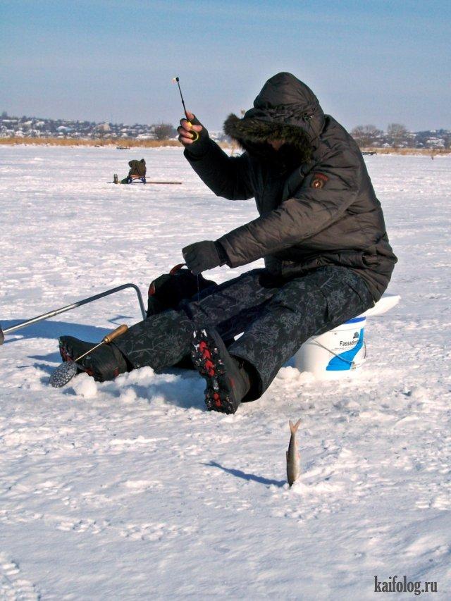 зимняя рыбалка в декабре