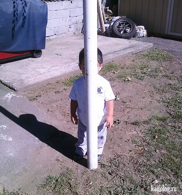 Дети играют в прятки (40 фото)