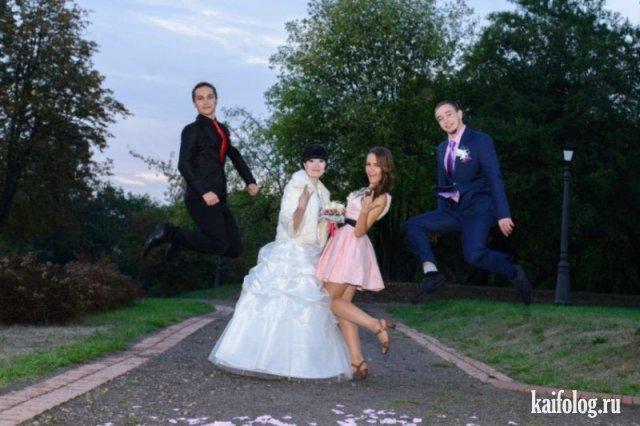 Свадебные приколы (50 фотографий)