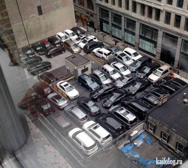 Приколы про парковку (45 фото)