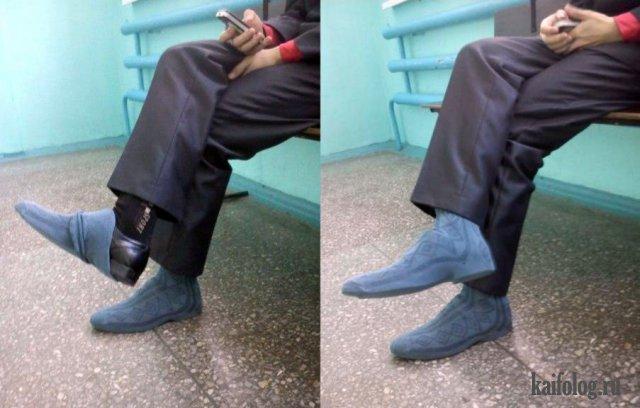 Приколы про носки (40 фото)