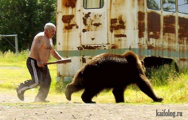 Бейсбольная бита в России (35 приколов)