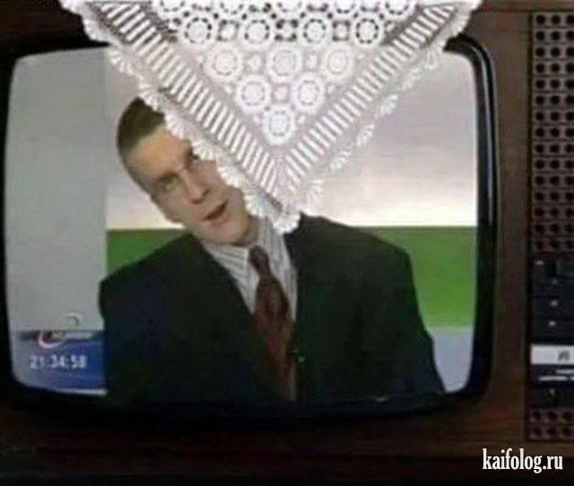 Приколы с телевидения (40 фото)