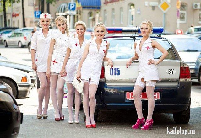 Приколы с блондинками (45 фото)