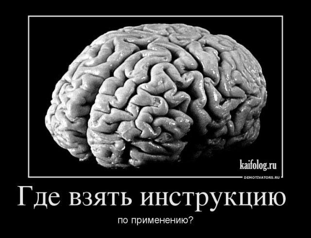 Демотиваторы про дураков и разум (50 демок)