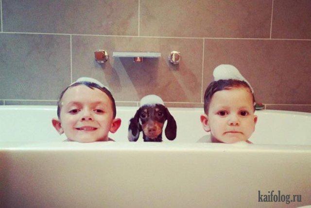 Смешные фото детей (50 фото)