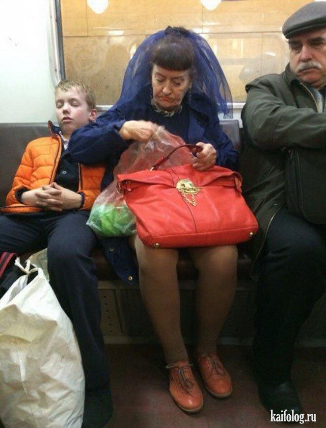 Русские модники в метро (40 фото)