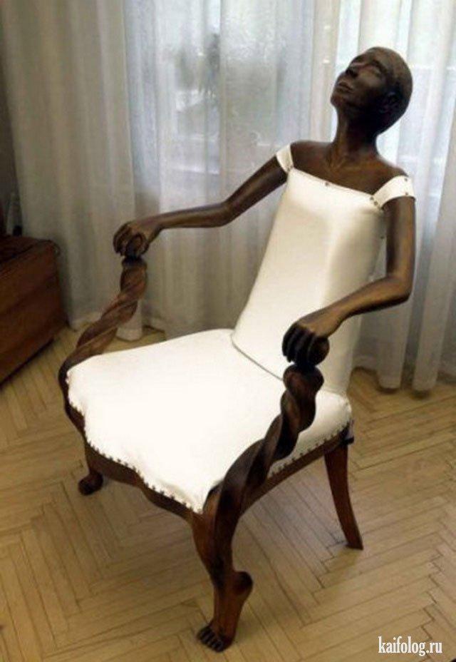 Необычные кресла и стулья (50 фото)