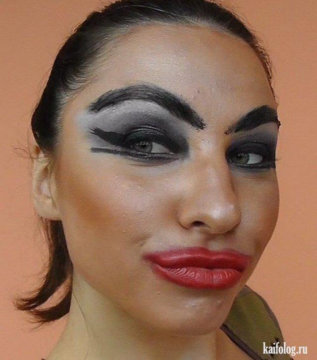 Красивый лёгкий макияж фото