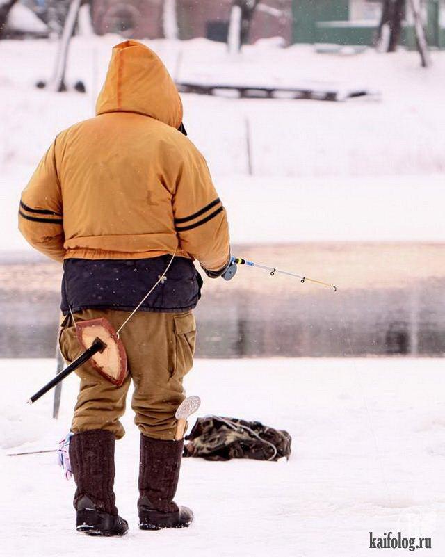 смешные фото про рыбаков зимой панорамы