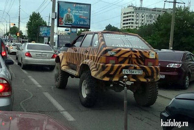 Тюнинг на авто 2106