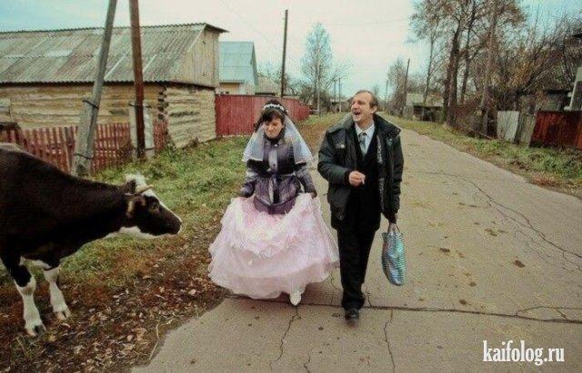 Провинциальные свадьбы (45 фото)