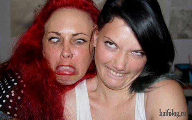Прикольные рыжие девушки (45 фото)