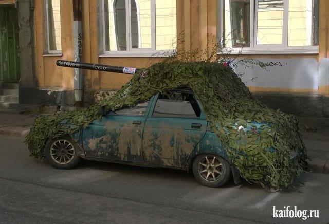 Необычный тюнинг авто (40 фото)