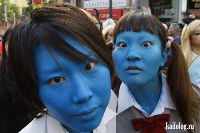 Безумная Япония (45 фото)
