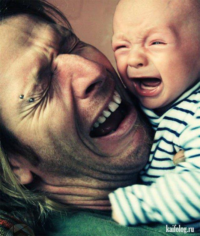 Весь в отца (40 фото)