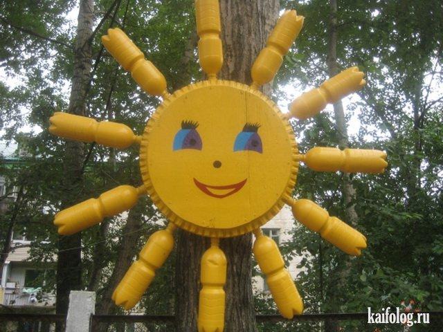 Солнце для детская площадка своими руками 9