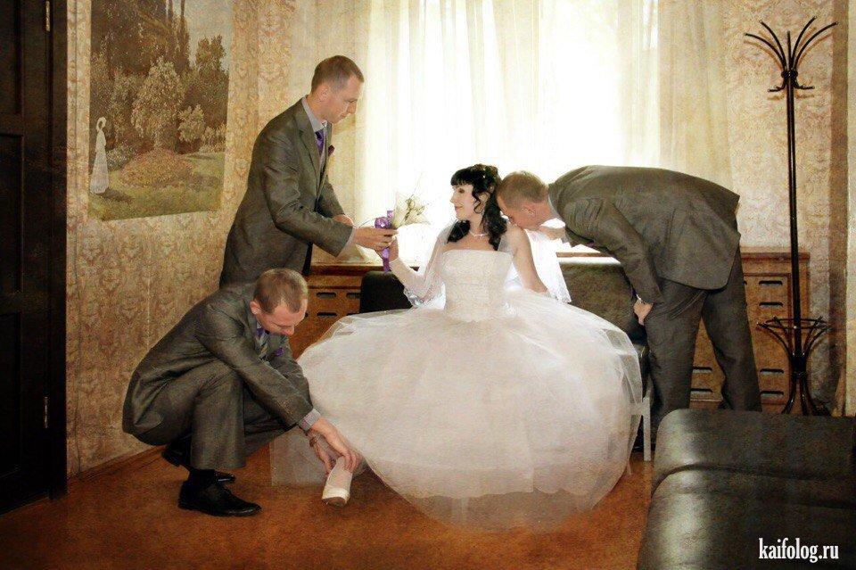 Интересные фото невест