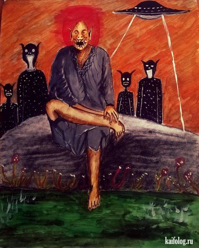 Прикольные картины Ramkumar (40 картин)
