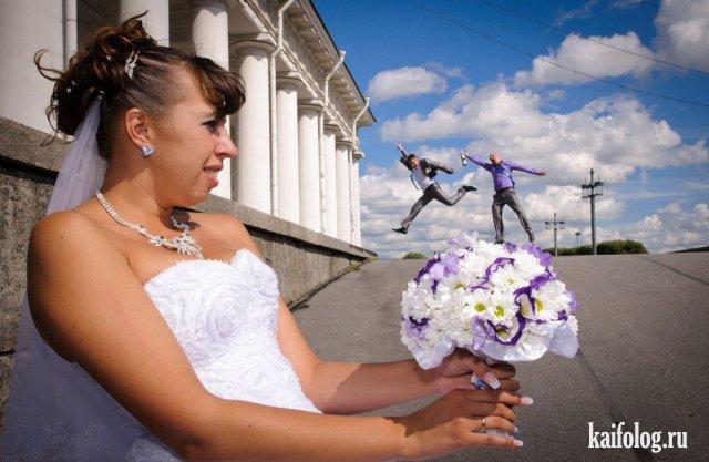 Как испортить свадебное фото (45 примеров)