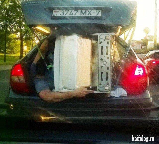 Приколы про грузоперевозки (45 фото)