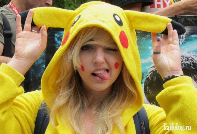 Ловля покемонов или Pokemon Go