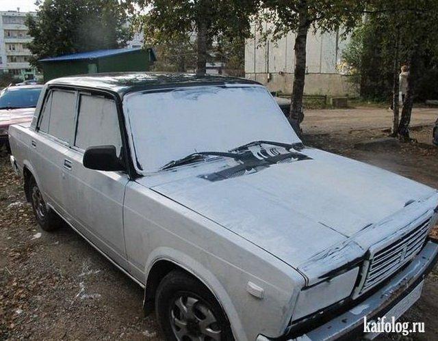 Русские авто приколы (45 фото и видео)