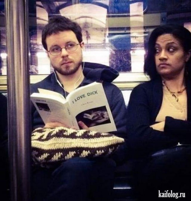 Жуткие и прикольные книги (45 фото)