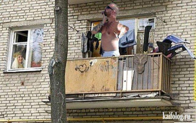 """Для чего нужен балкон? (20 фото) """" невседома - жизнь полна р."""