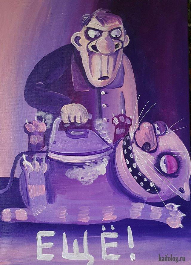 Картинки Васи Ложкина (40 картин)