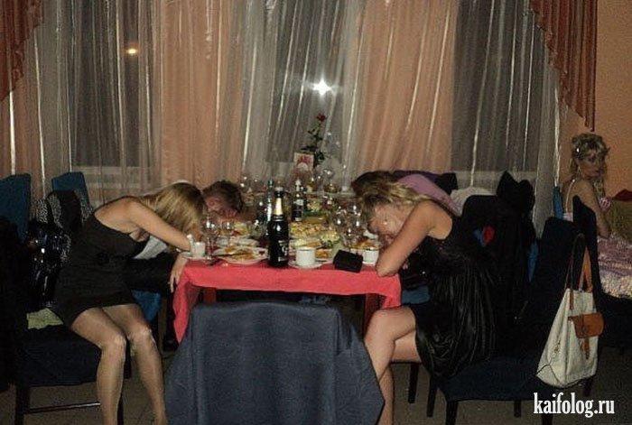 Фото пьяных девушек на новый год