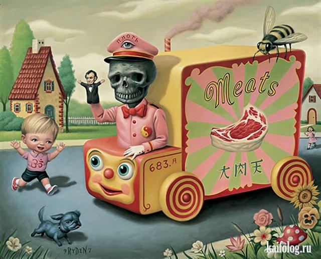 Марк Райден (50 картин)
