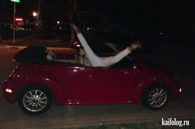 Девушки за рулем (45 фото)
