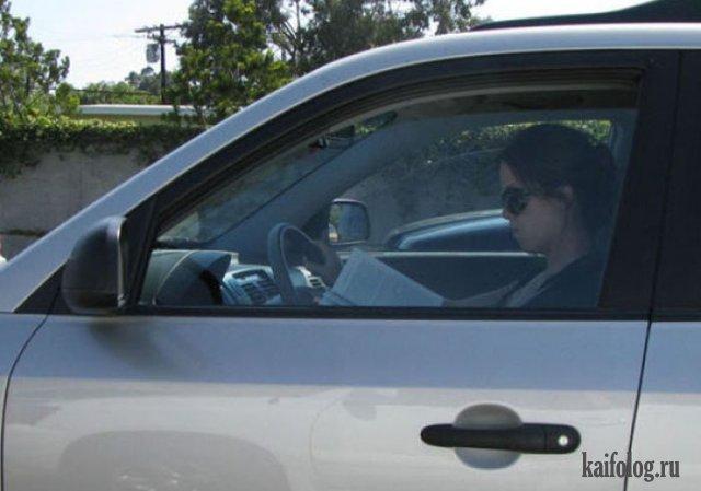 Женщины за рулем (45 фото)