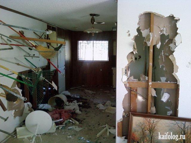 Квартиры после вечеринок (45 фото)