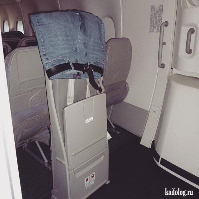Адские авиапассажиры (45 фото)