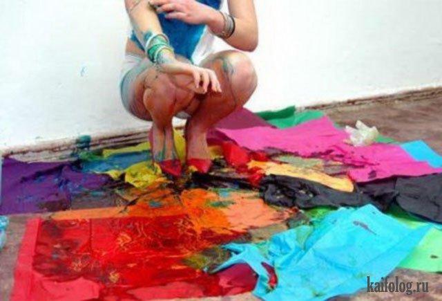Милли Браун, искусство блевать (30 фото)