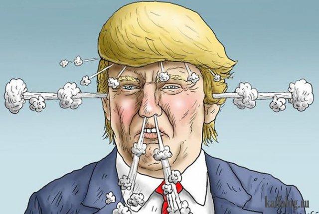 Картинки по запросу картинки карикатура трамп