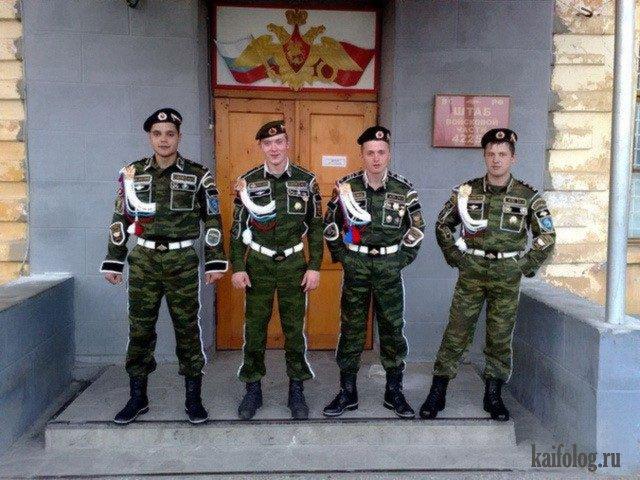 Армейская мода (40 фото)