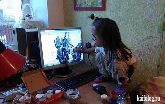 Фото приколы про детей (50 фото)