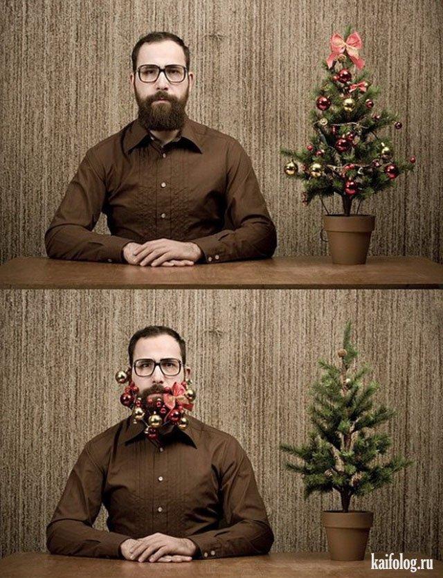 Новогоднее поздравление (100 фото)