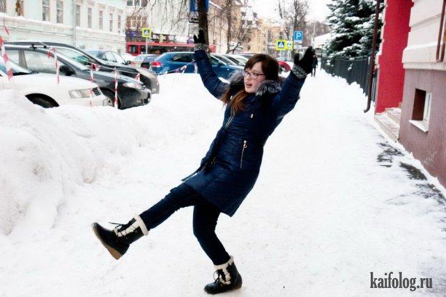 Зимние танцы (40 фото)